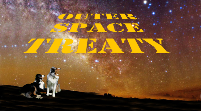 The outer space treaty doggedly yours for Outer space 2016