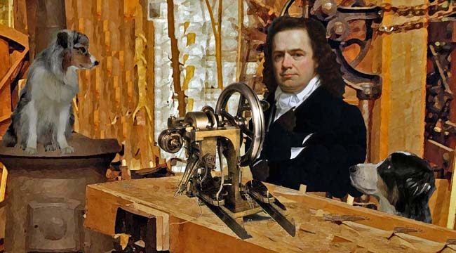 Sewing Machine Inventor Howe